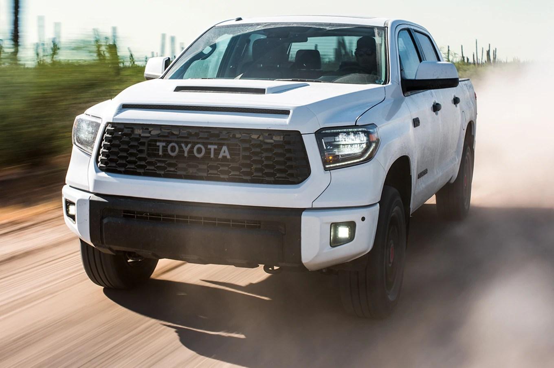 toyota yaris trd limited harga new innova venturer 2017 2019 tundra pro front three quarter in motion ...
