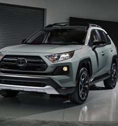2019 toyota rav4 first look new look for the suv sales king motortrend [ 1360 x 903 Pixel ]