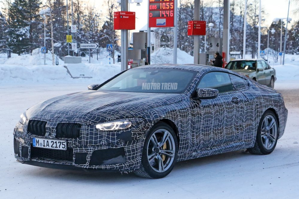 medium resolution of bmw m8 barely even tries to cover up motor trend