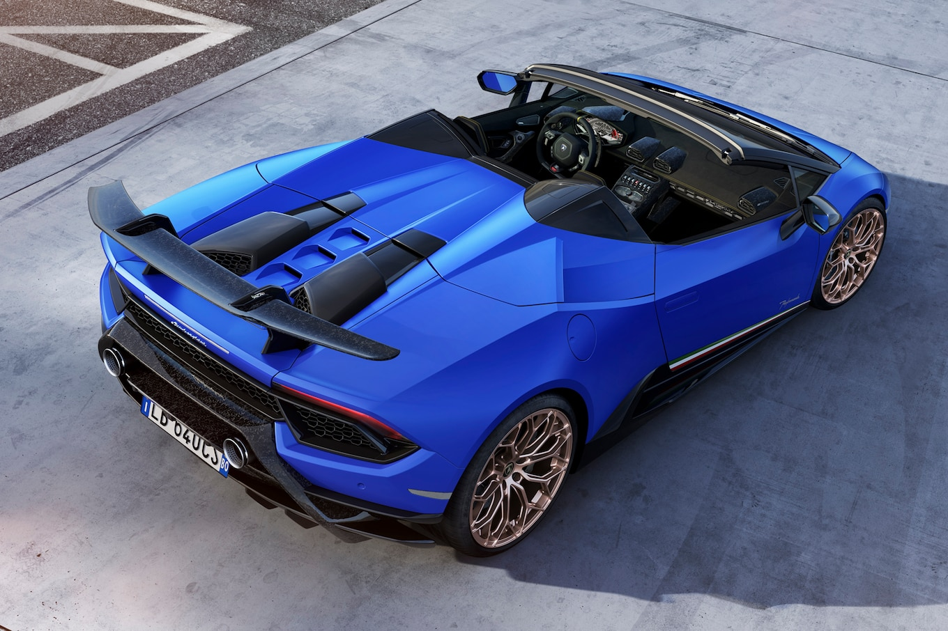 Floor It, And Lamborghini Says The All Wheel Drive Supercar Will Hit 62 Mph  In 3.1 Seconds. At 9.3 Seconds, Lambo Estimates You Should Be At 124 Mph,  ...