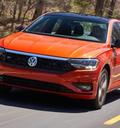 2019 volkswagen jetta first drive still a golf with a trunk motor trend [ 1360 x 903 Pixel ]