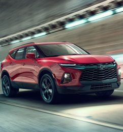 2019 chevrolet blazer first look reinventing the suv for a cuv world motor trend [ 1360 x 903 Pixel ]