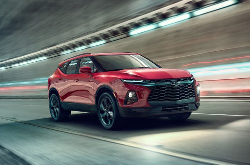 small resolution of 2019 chevrolet blazer first look reinventing the suv for a cuv world motor trend