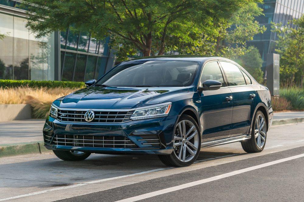 medium resolution of 2018 volkswagen passat first test tough company