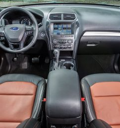2019 ford explorer xlt desert copper edition interior kelly lin september 28 2018 [ 1360 x 765 Pixel ]