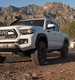 2019 toyota tacoma trd pro first drive shocking development motortrend [ 1360 x 765 Pixel ]