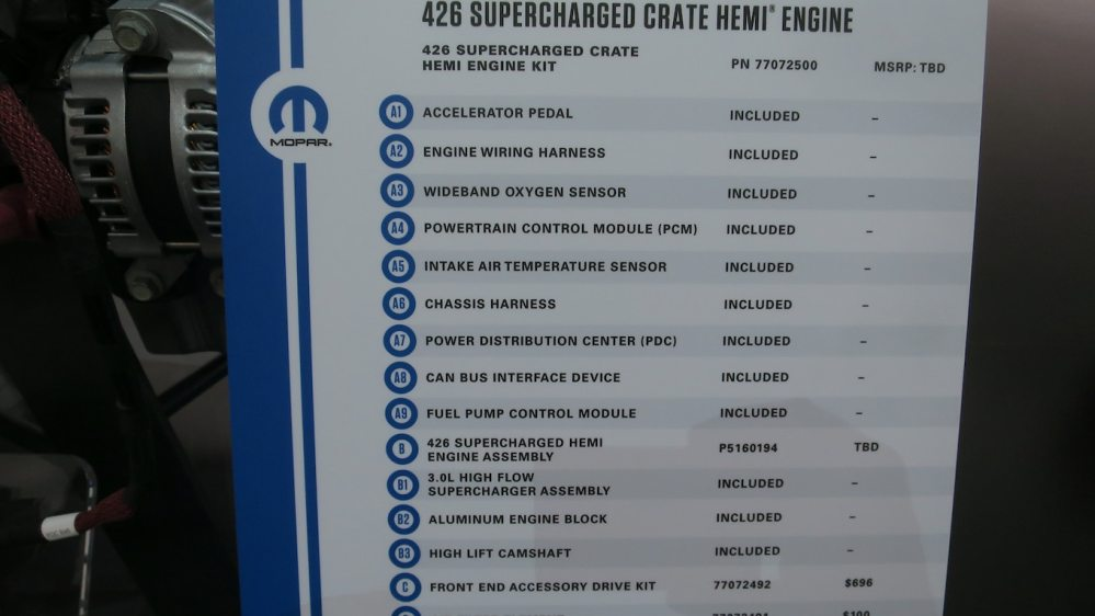 medium resolution of mopar hellephant is planet earth s first 1 000 hp oem crate engine motortrend