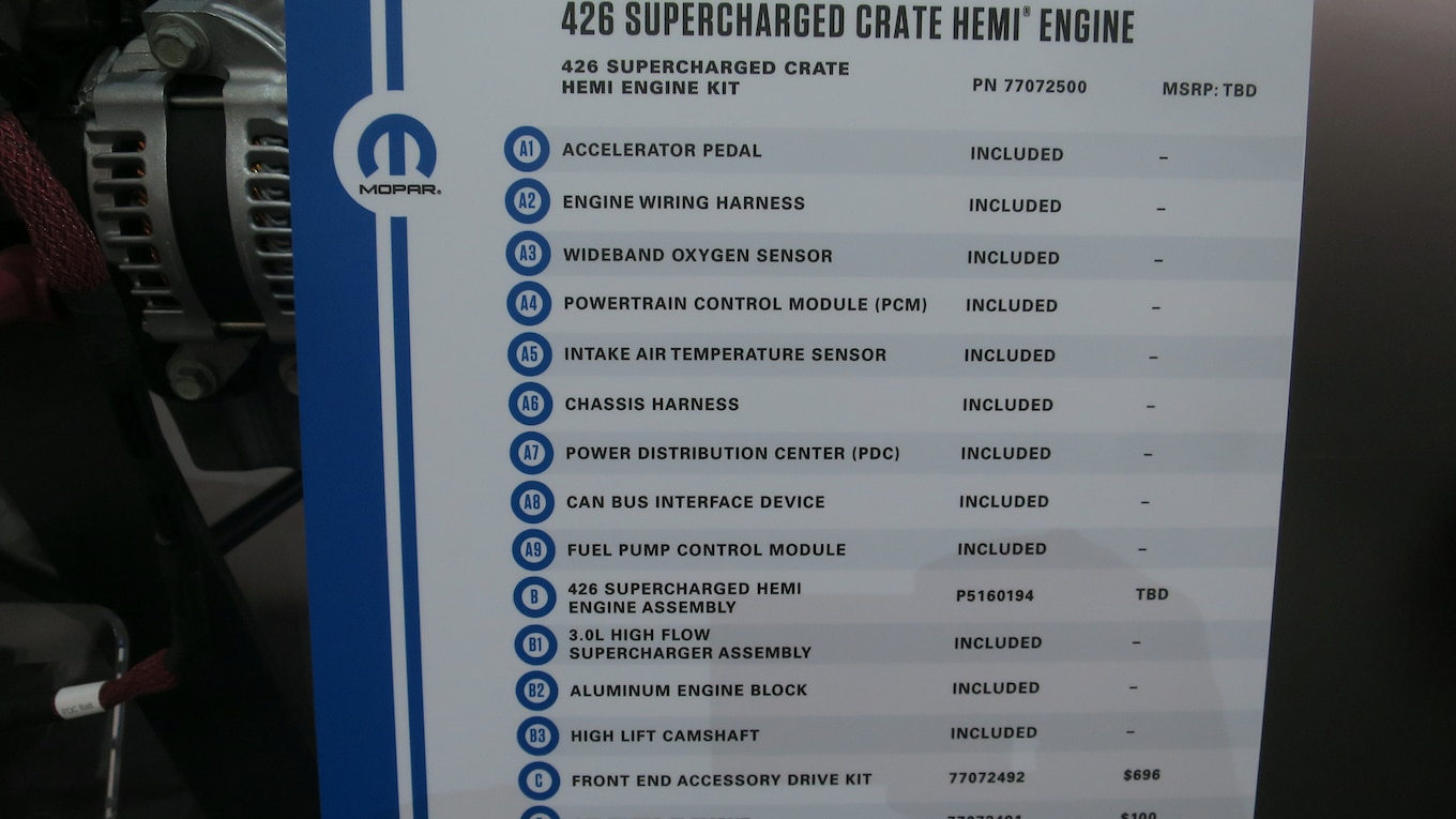 hight resolution of mopar hellephant is planet earth s first 1 000 hp oem crate engine motortrend