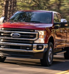 2020 ford f series super duty first look super is as super does [ 1360 x 765 Pixel ]