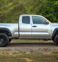 there s also a new sx package which features blacked out wheels and exterior trim bits we recently got a first look at the 2020 tacoma which promises to  [ 1360 x 765 Pixel ]