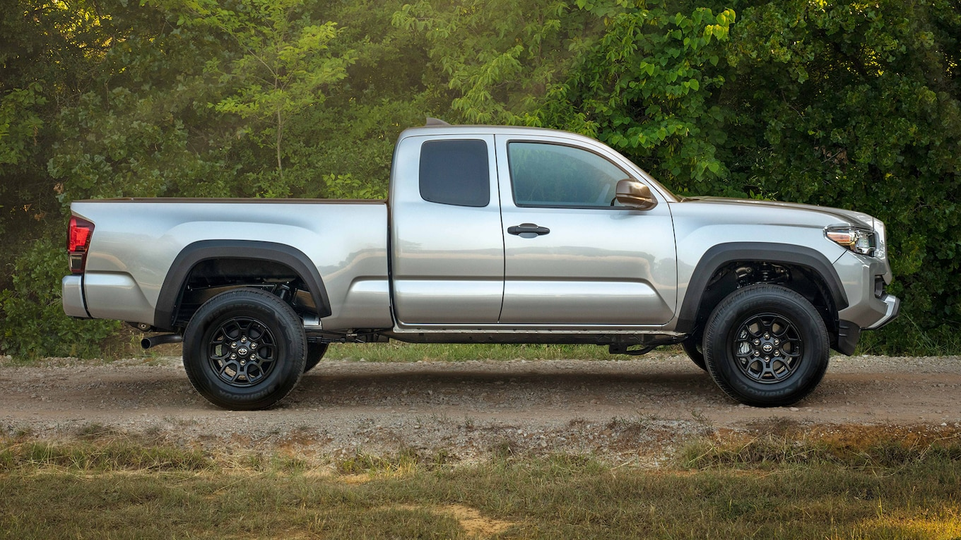 hight resolution of there s also a new sx package which features blacked out wheels and exterior trim bits we recently got a first look at the 2020 tacoma which promises to