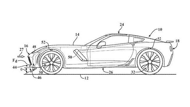 Mid-Engine Corvette: Patent Hints at Potential Active Aero