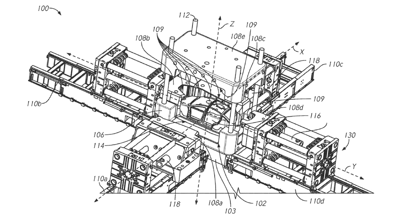 Flipboard: Tesla Patents Massive Frame Casting Machine