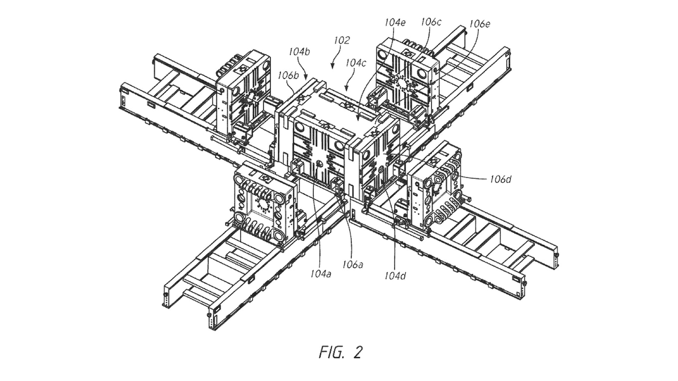 Tesla Patents Massive Frame Casting Machine, Better Wiring