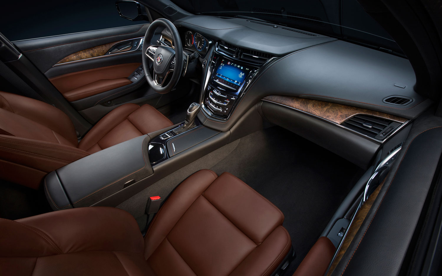 hight resolution of 2014 cadillac cts front interior 2