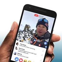 Cách live stream Facebook trên di động, máy tính bảng