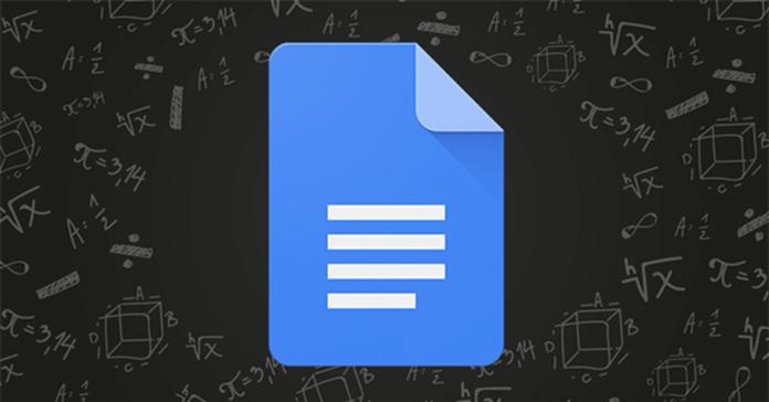 Cách chèn Công thức toán học, phương trình trong Google Docs