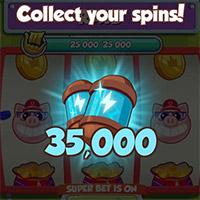Các cách nhận Spin, chạy spin Coin Master