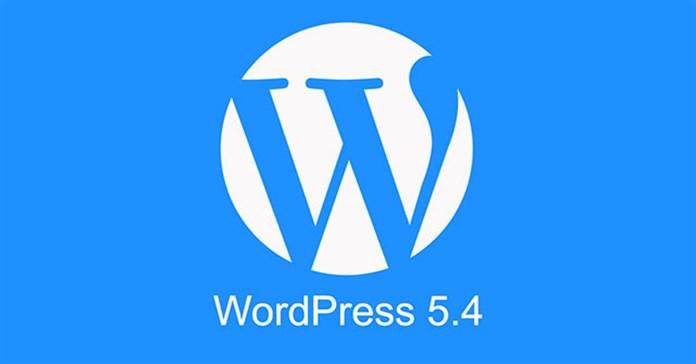 WordPress 5.4 có gì mới?