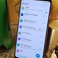 Cách đổi hình nền tin nhắn trên điện thoại Samsung