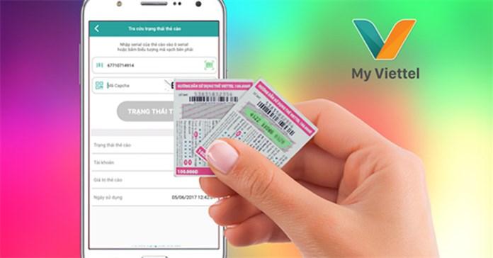 Cách lấy lại mã thẻ cào Viettel khi mất số, mờ số