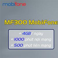Cách đăng ký MF300 Mobifone nhận 4GB/ngày, 1500 phút gọi