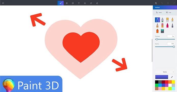 Cách thay đổi kích thước hình ảnh trong ứng dụng Paint 3D trên Windows 10