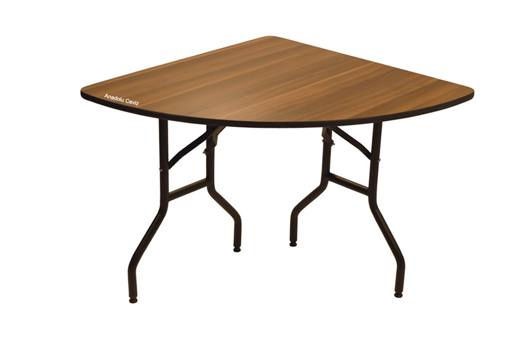 BNKMS04Quarter Round Banquet Table Folding Legs several