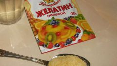 Cum de a rasa gelatina de produse alimentare pentru chilts