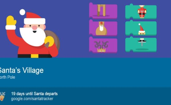 Google S 2016 Santa Tracker Is Back With New Games And