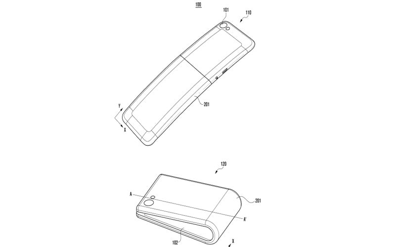 Samsung working on all-new foldable device, latest patent