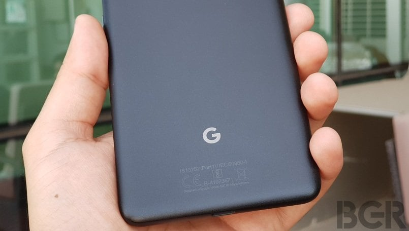 Google Pixel 2 running Android Q spotted online