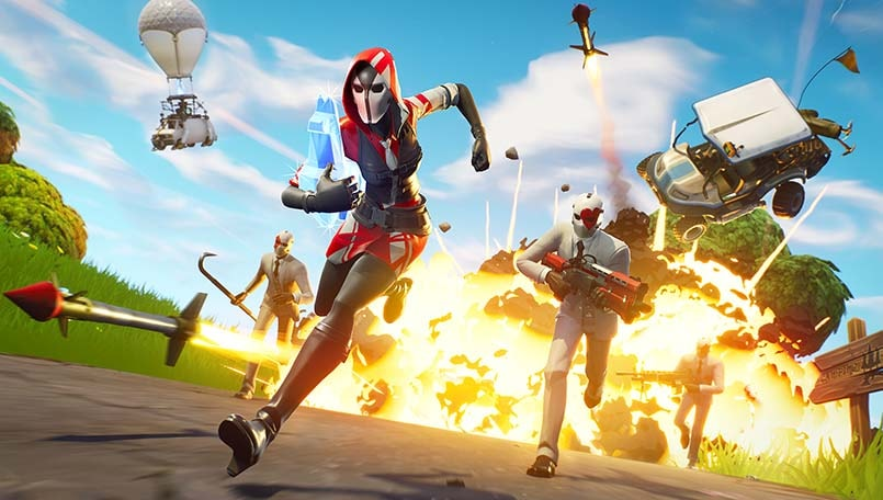 Fortnite cross-play on PS4 finally breaches an age old barrier