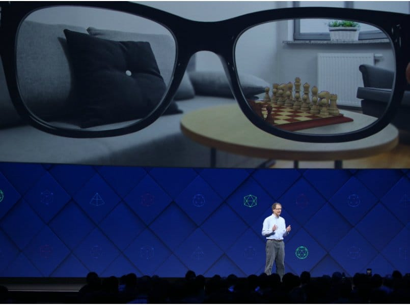 Facebook partners Ray-Ban parent Luxottica to design AR glasses codenamed Orion