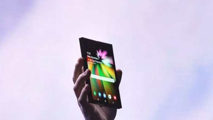 Samsung unveils the foldable smartphone at the SDC 2018