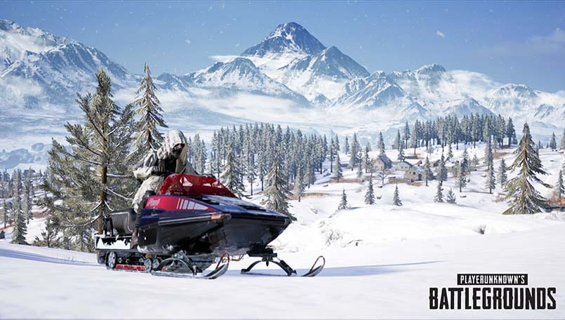 PUBG Update 24 Introduces Vikendi Snow Map And Weather