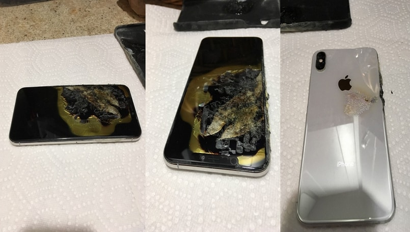 Apple iPhone XS Max reportedly catches fire in the pocket of owner's trousers