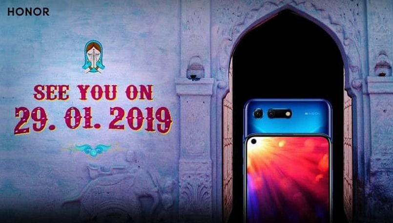 Honor View20 India launch scheduled for January 29; will be Amazon exclusive