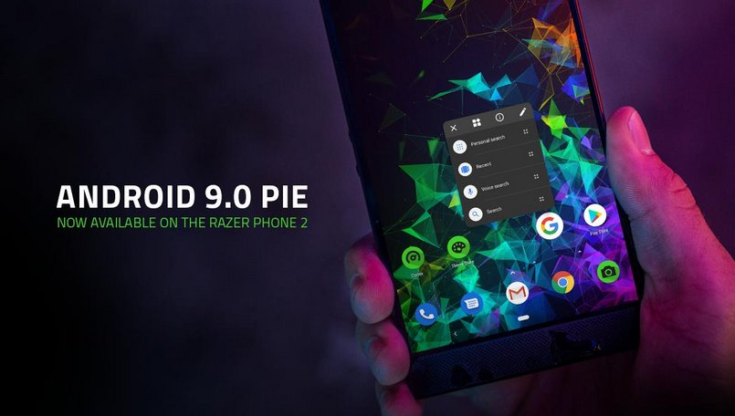 Razer Phone 2 Android 9 Pie update rolling out with 4K video at 60fps support, Adaptive battery and more