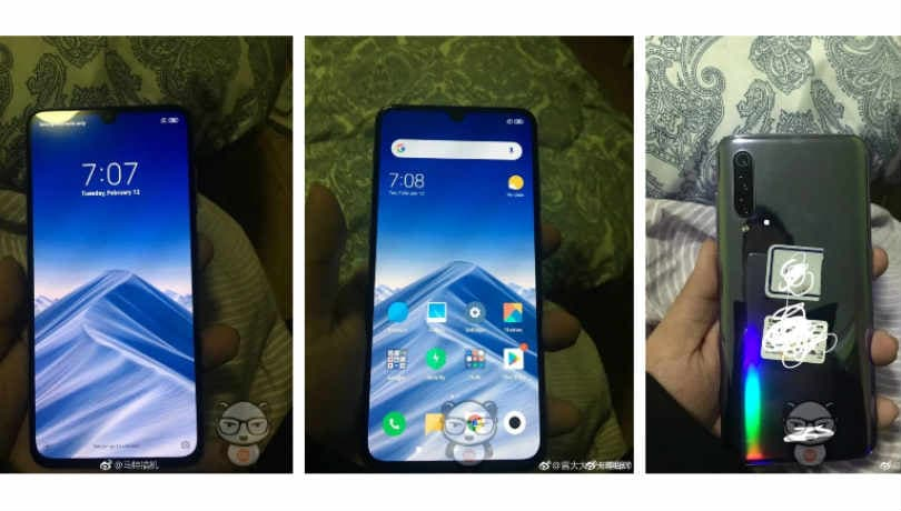 Xiaomi Mi 9 live photos, specifications leaked; waterdrop notch, 48MP camera and more tipped
