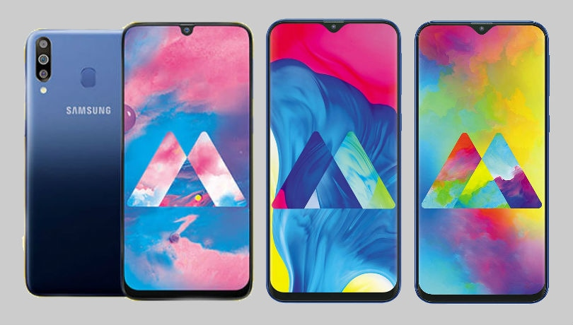 Samsung Galaxy M30 vs Galaxy M20 vs Galaxy M10: Here's what's different