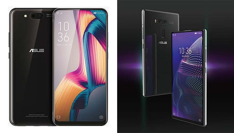 Asus: Design renders and real-world images of a 5G device with slider and camera-focused device leak