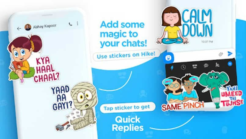 Hike Sticker Chat app launched with 30,000 stickers on Android and iOS
