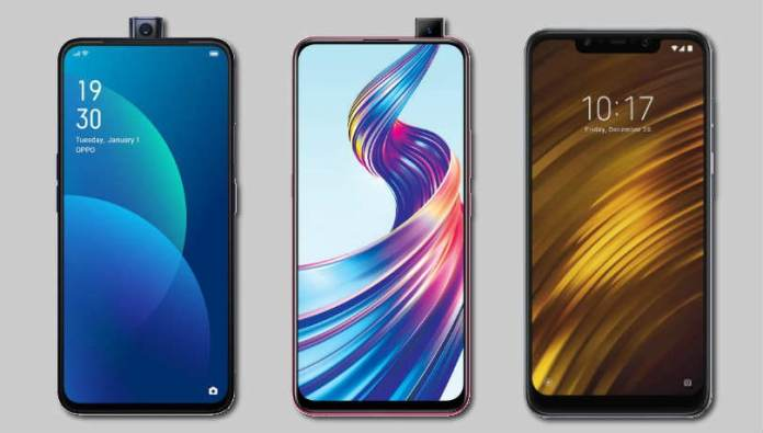 Vivo V15 vs Oppo F11 Pro vs Xiaomi Poco F1: Price, specifications and features compared