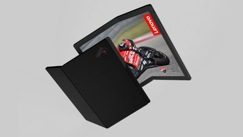 Lenovo previews world's first foldable PC as part of ThinkPad X1 family