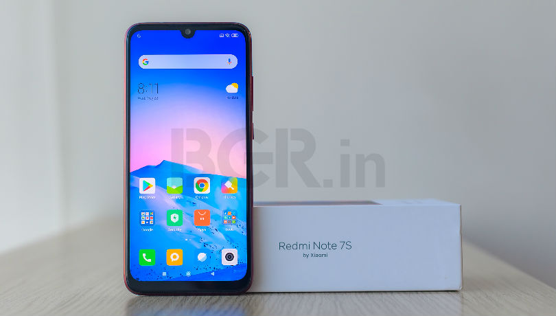 Xiaomi Redmi Note 7S to go on sale tonight: Price in India, specifications, features
