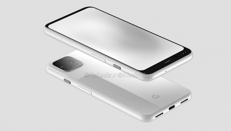 Google Pixel 4 new detailed renders, screen protectors surface online