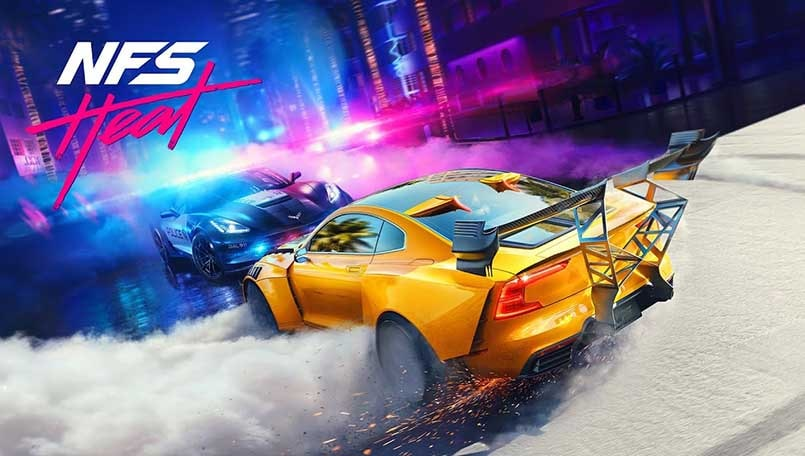 Need for Speed Heat gameplay trailer out, gets car customization app
