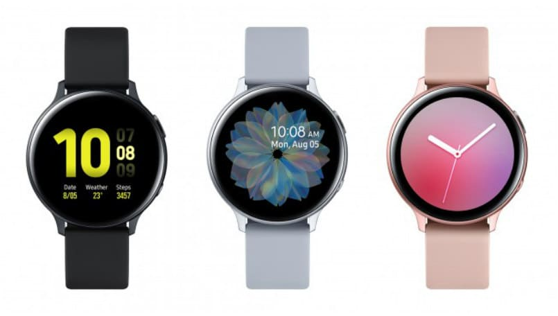 Samsung Galaxy Watch Active 2 with digital bezel, ECG sensor launched: Price, features
