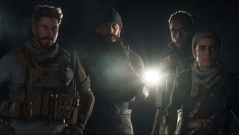Call of Duty: Modern Warfare campaign trailer is now out
